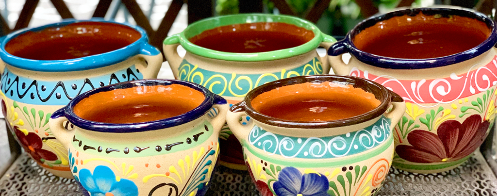 how-to-bring-color-into-the-patio-mexican-pottery