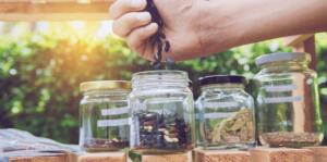 saving seeds in jars
